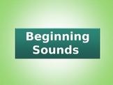 PreK/Kindergarten Beginning Sounds Guided Practice Powerpoint