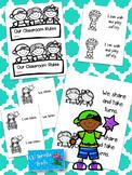 Classroom Rules Book & Poster - PreK/Pre-K/Pre K/Kindergarten