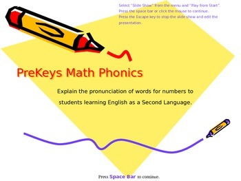PreKeys 08 Math Phonics