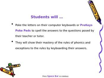 PreKeys 08 Phonics