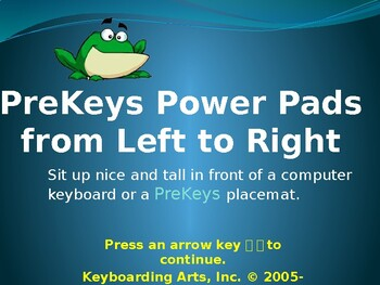 PreKeys 04 PowerPads from Left to Right