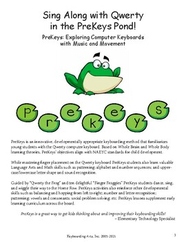 PreKeys Sing Along with Qwerty songbook