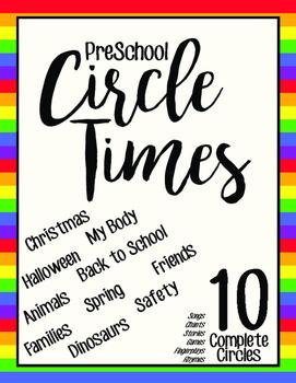 PreKindergarten Circle Times (Themed)