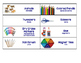 New Lower Price: PreKindergarten, ECE, Materials labels in English and Spanish