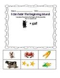 PreKindergarten and Kindergarten Early Literacy Packet