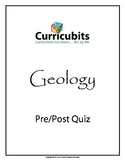 Pre/Post Quiz | Theme: Geology | Scripted Afterschool Activity