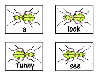 PrePrimer Dolch Word Splat Game for Sight Word Recognition