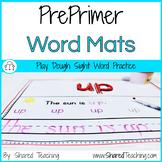 PrePrimer Play Dough Sight Word Practice