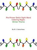 PrePrimer Sight Words Activity