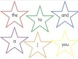 PrePrimer and Primer Star Sight words