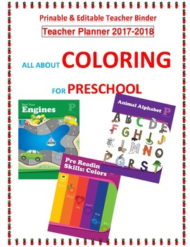 PreSchool Coloring™ Curriculum Units BUNDLED - Printable for use