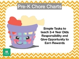 PreSchool-Early Elementary Chore Chart