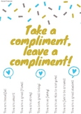 Tear Away Compliment Poster