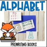 PreWriting Alphabet Mini Books