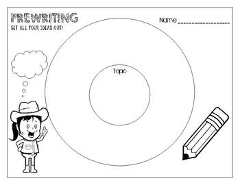 PreWriting Circle Map