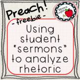 "Preach! Using Student ""Sermons"" to Teach Rhetoric"