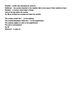 Prealgebra review answer key