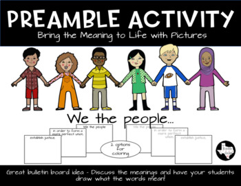 Preamble Activity - Bring Meaning to Life With Pictures
