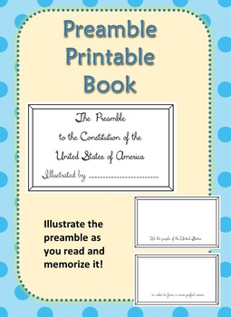 photo relating to Preamble Printable referred to as Preamble Guide Printable