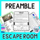 Preamble ESCAPE ROOM Activity  : Goals of the U.S. Constitution