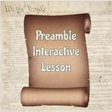 Preamble Interactive Lesson