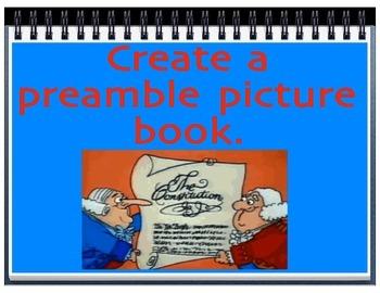 Preamble Picture Book Activity