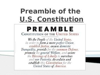 Preamble PowerPoint