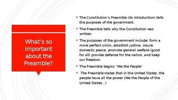 Preamble Powerpoint