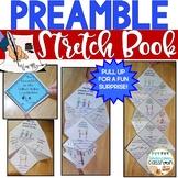 Preamble Stretch Book | Preamble to the Constitution | Preamble Activity