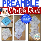 Preamble Stretch Book: Constitution Day Activity, Preamble