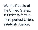 Preamble Unscramble