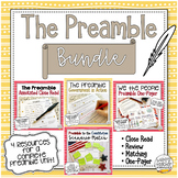 Preamble to the Constitution Activity Bundle - for Civics