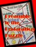 Preamble to the Declaration of Independence Jigsaw Puzzle-