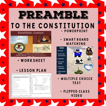 Preamble to the US Constitution - Civics