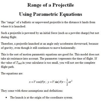 Precalculus Activity Pack II
