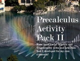 Precalculus Activity Pack II