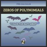 PreCalculus Halloween: Zeros of Polynomial Functions - CHA