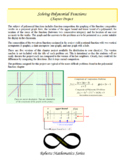 Precalculus Solving Polynomial Functions Project