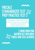 Precalculus Standardized Test Prep 2