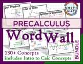 Precalculus Word Wall