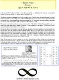 Precalculus and Algebra 2 Matrix Project (WW II Alan Turing)