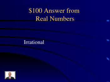 Precalculus first day Jeopardy