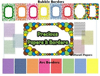Precious Papers and Borders for Commerical and Personal Use