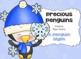 Precious Penguins Winter Glyph