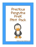 Precious Penguins PreK Mini Printable Pack