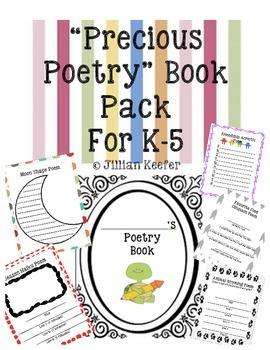 Poetry Book: Precious Poems Pack  (K-5 Learning)