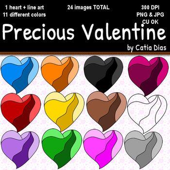 Precious Valentine Clip Art