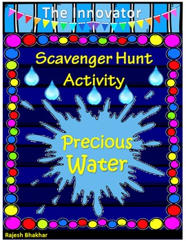 Precious Water _ Scavenger Hunt