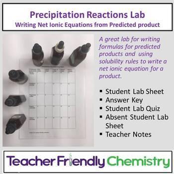Chemistry Lab: Precipitation Reactions