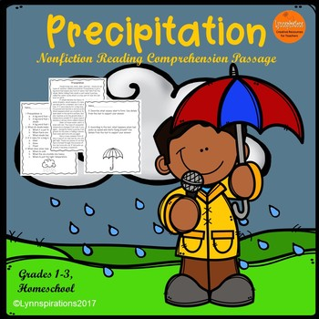Precipitation Reading Comprehension